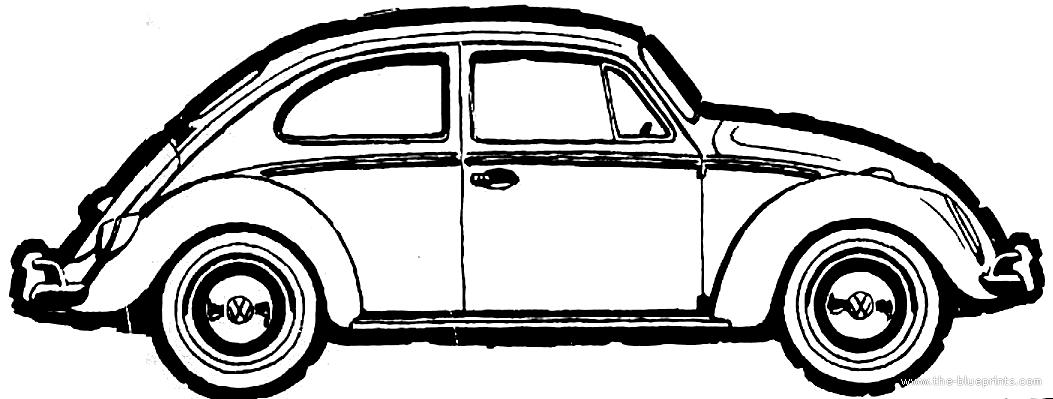 blueprints  u0026gt  cars  u0026gt  volkswagen  u0026gt  volkswagen beetle 1600  1966