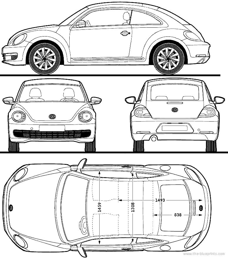 1964 volkswagen beetle wiring diagram  volkswagen  auto