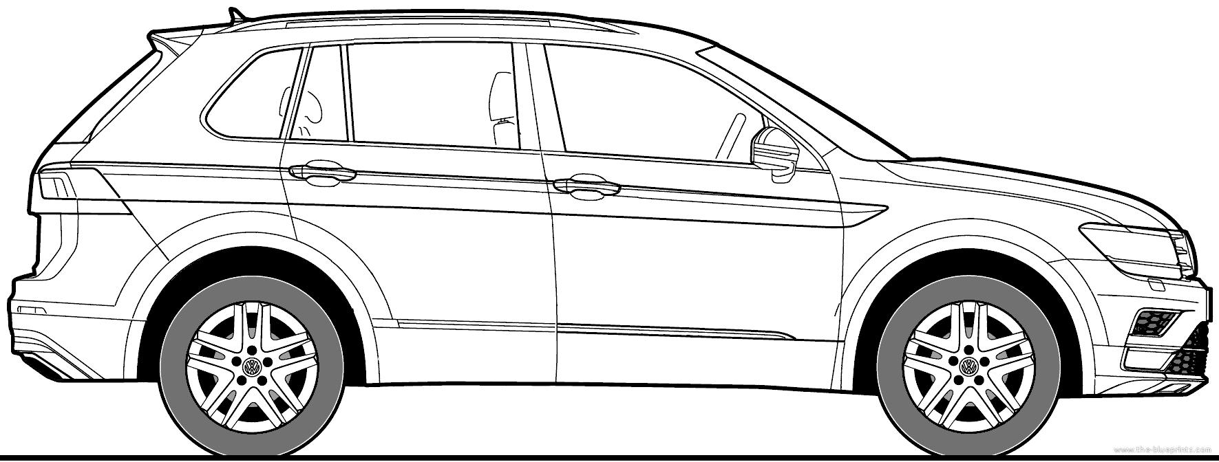 100    volkswagen tiguan 2016 white