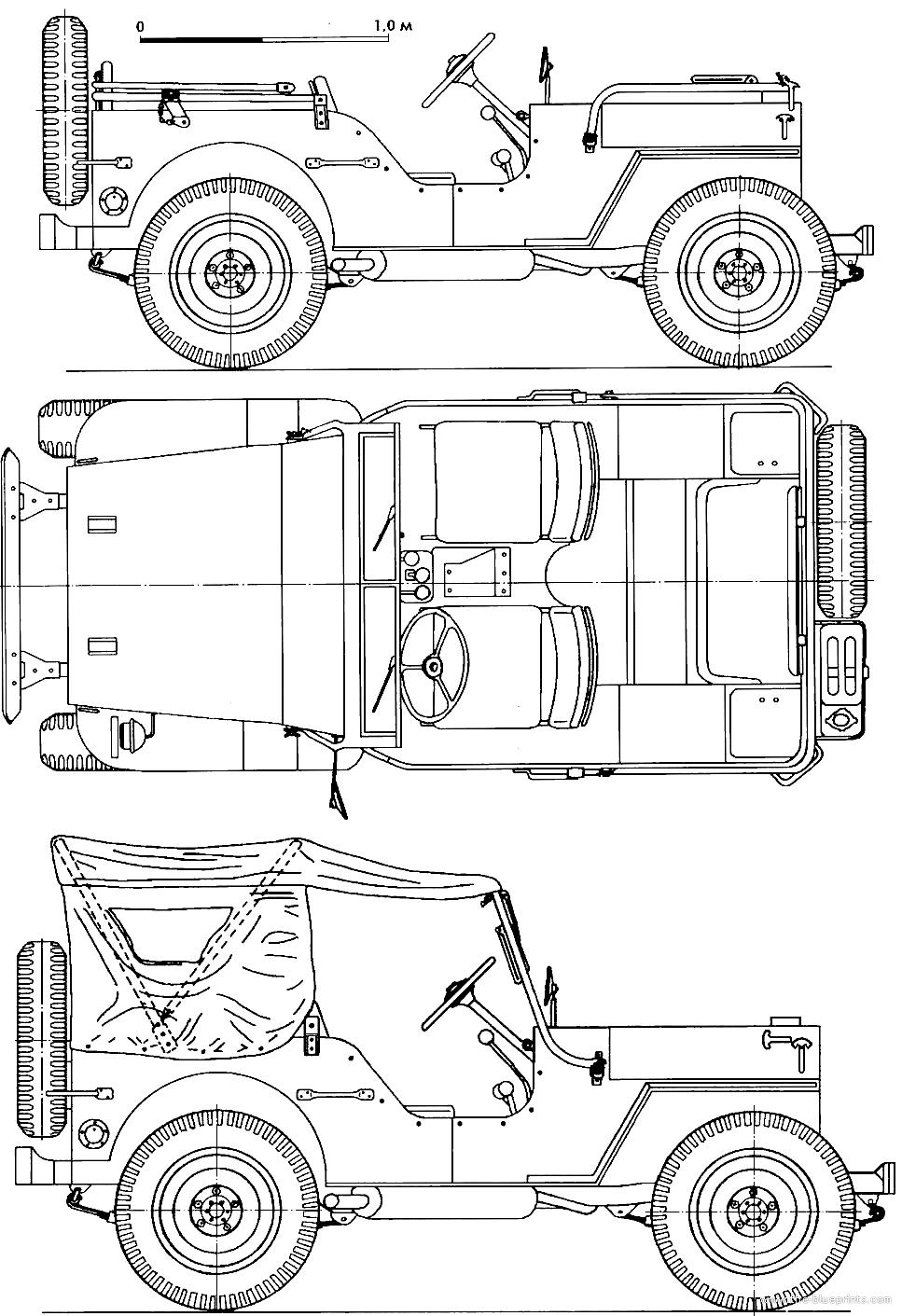 blueprints  u0026gt  cars  u0026gt  willys  u0026gt  willys jeep mb  1942