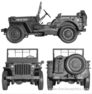 Willys Jeep Mb 1942