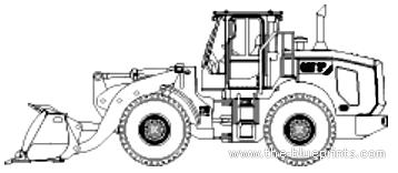 Blueprints > Construction equipment > Caterpillar