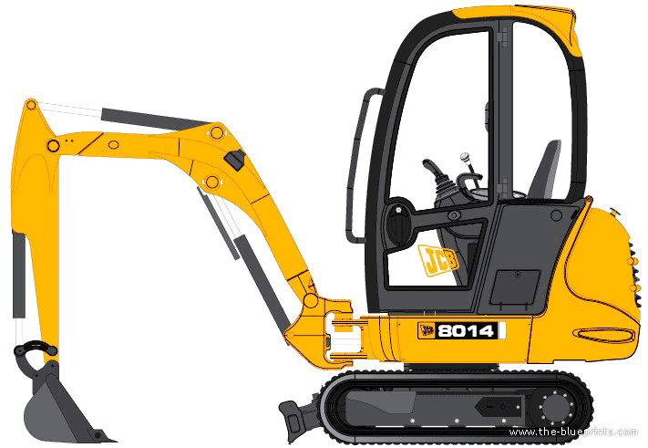 El juego de las imagenes-http://www.the-blueprints.com/blueprints-depot/construction-equipment/jcb/jcb-8014.png