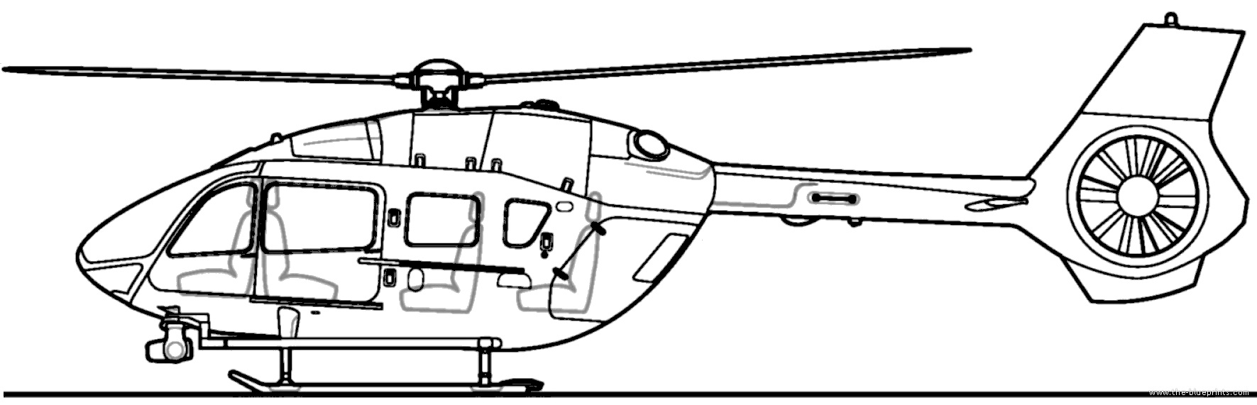 blueprints helicopters helicopters a b airbus helicopters ec145 t2