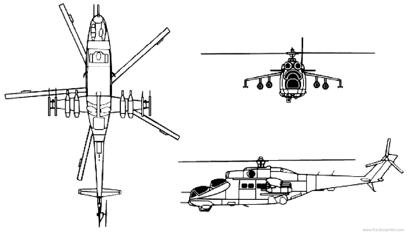 blueprints helicopters mil mil mi 24 hind. Black Bedroom Furniture Sets. Home Design Ideas