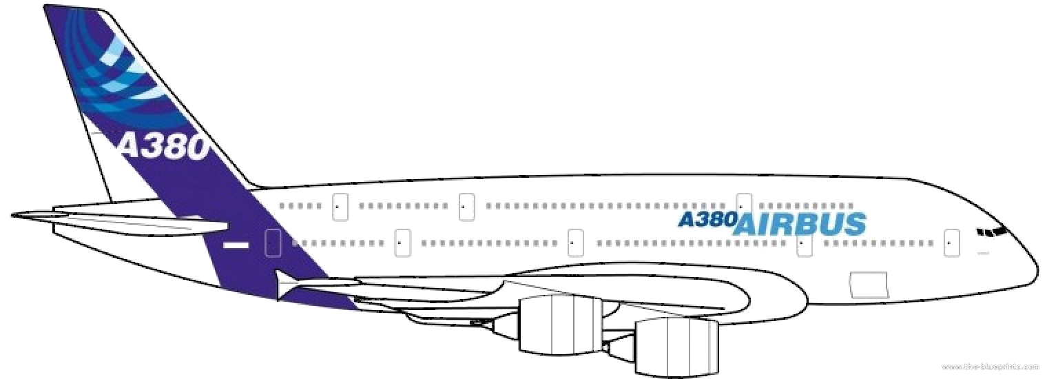Free coloring pages of airbus a380 for A380 coloring pages