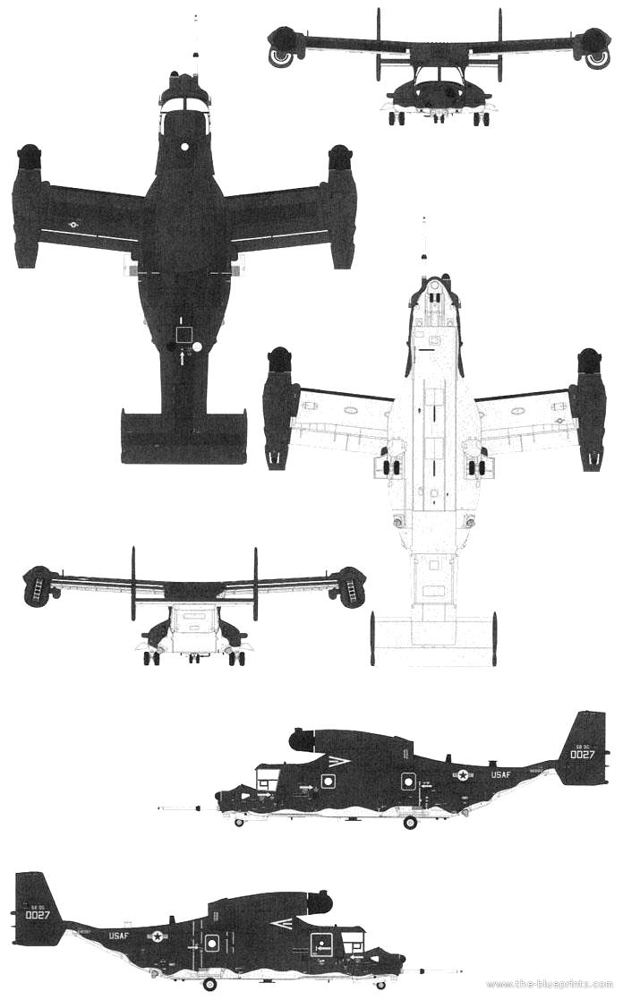 blueprints  u0026gt  modern airplanes  u0026gt  bell  u0026gt  bell boeing cv