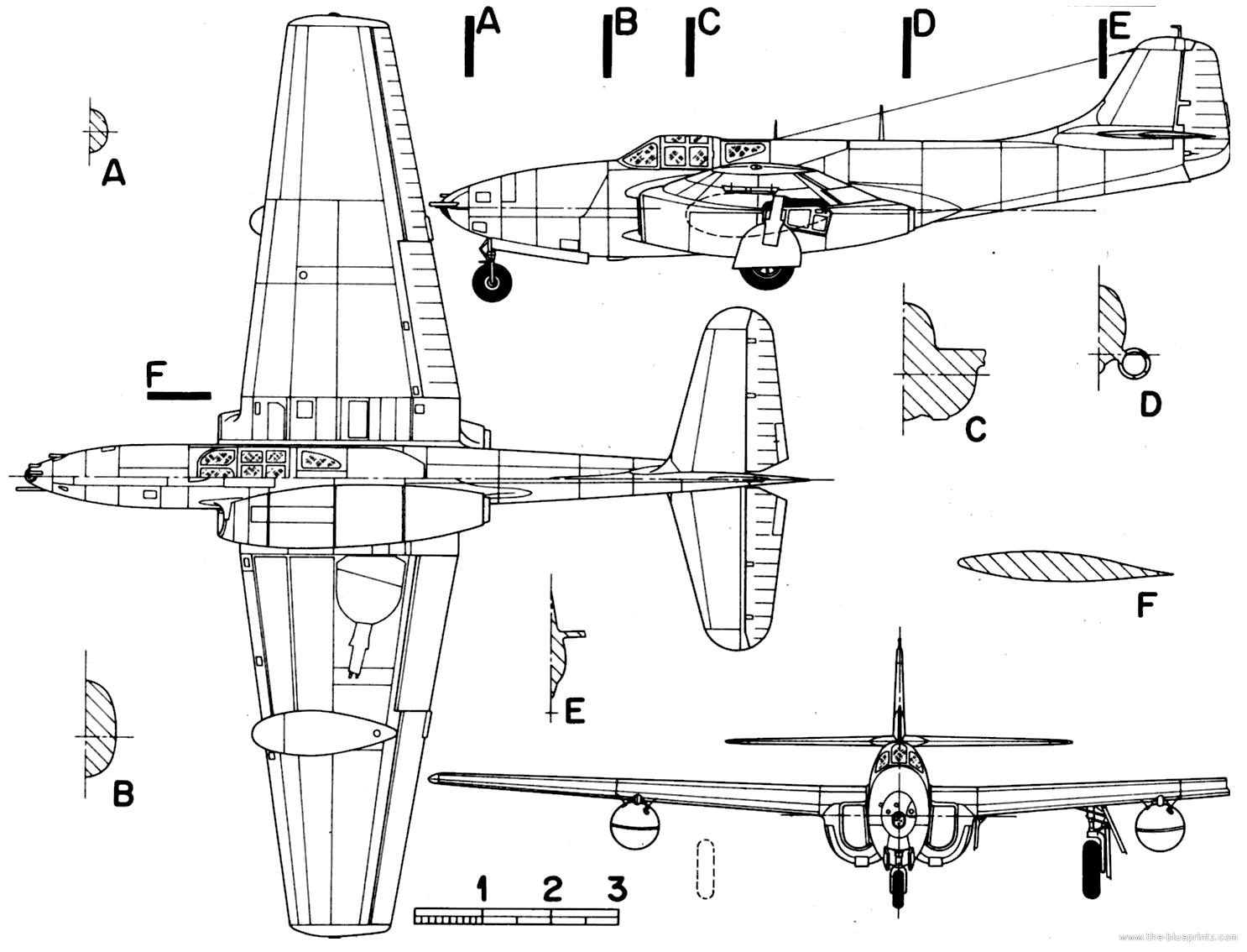 P 59 airacomet design and development malvernweather Gallery