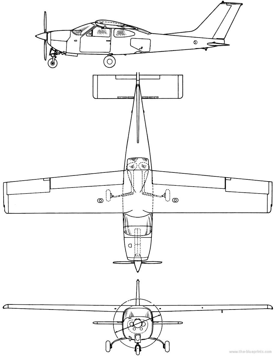 cessna 172 blueprints