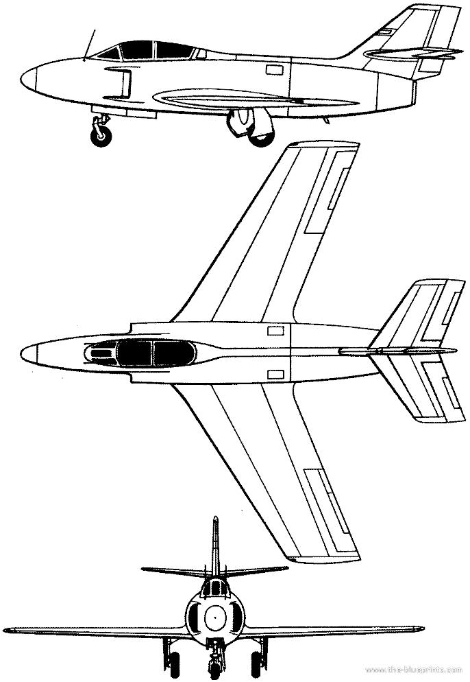 Dassault Md 453 Mystre Iiin De Nuit