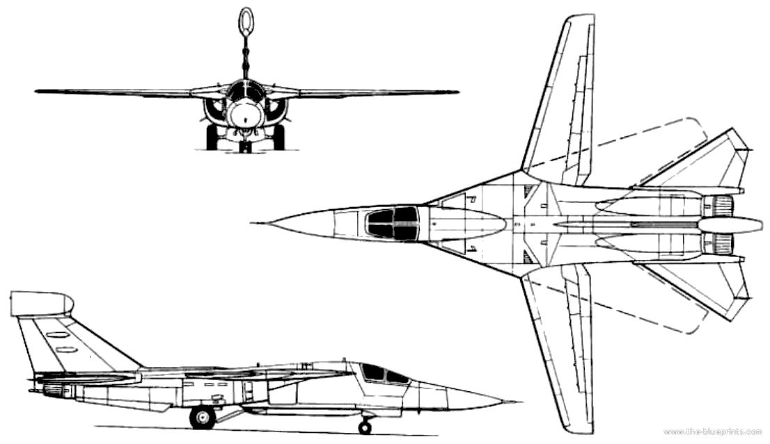 Blueprints modern airplanes general dynamics general dynamics general dynamics ef 111 raven malvernweather Image collections