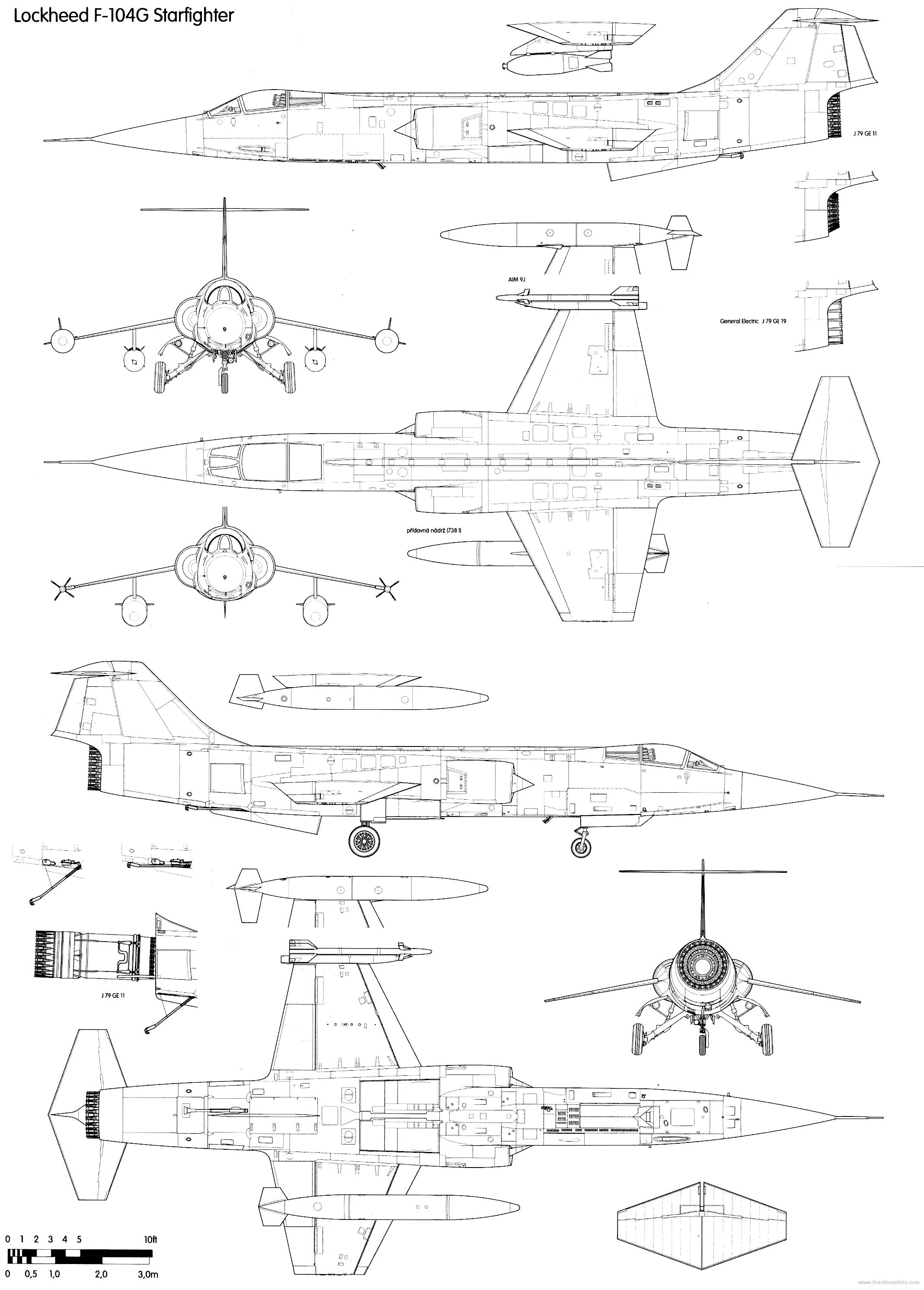 Beste blaupausen tutorial lesen ideen schaltplan serie circuit blueprints modern airplanes lockheed lockheed f 104g starfighter malvernweather Choice Image