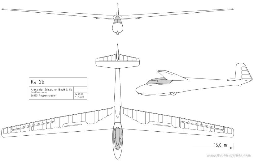 Blueprints modern airplanes modern jk ka 2b rhonschwalbe for Ka chengardinen modern ka chen