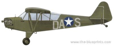 Blueprints > Modern airplanes > Piper > Piper J-4 Cub