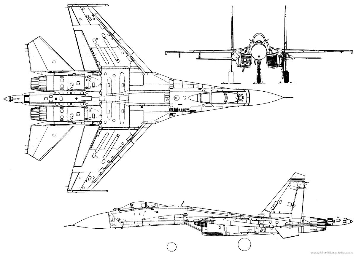 sukhoi su 27 flanker 2 2 the blueprints com blueprints \u003e modern airplanes \u003e sukhoi su-27 em diagram at crackthecode.co