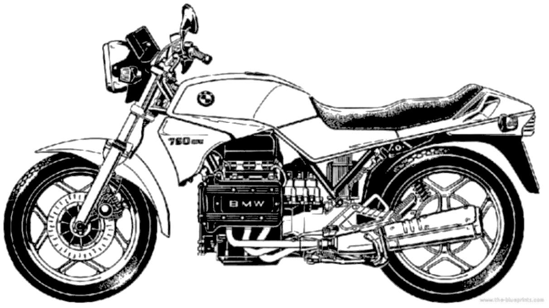 blueprints  u0026gt  motorcycles  u0026gt  bmw  u0026gt  bmw k75  1985