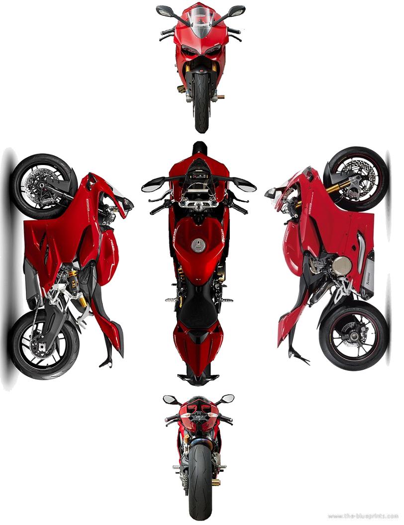 Blueprints Motorcycles Ducati Ducati 1199 Panigale 2012
