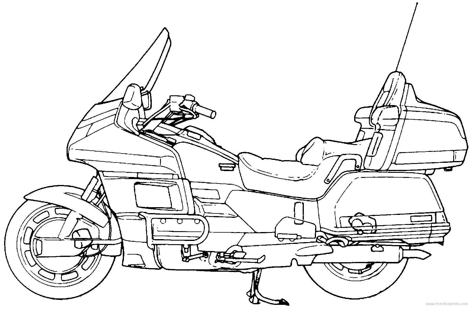 1992 Gl1500 Wiring Diagram Honda Motorcycle Diagrams Schematic Goldwing Schematics Enthusiast U2022 Gearbox