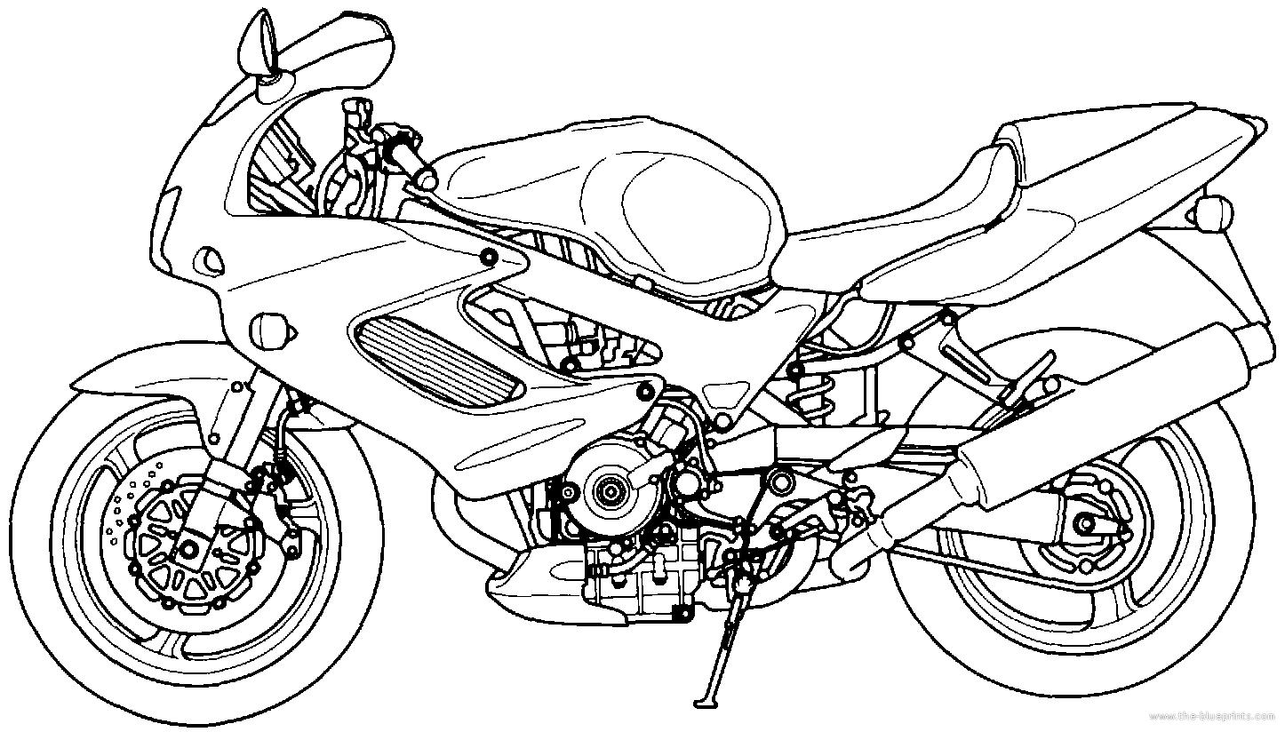 blueprints  u0026gt  motorcycles  u0026gt  honda  u0026gt  honda vtr 1000f  2001