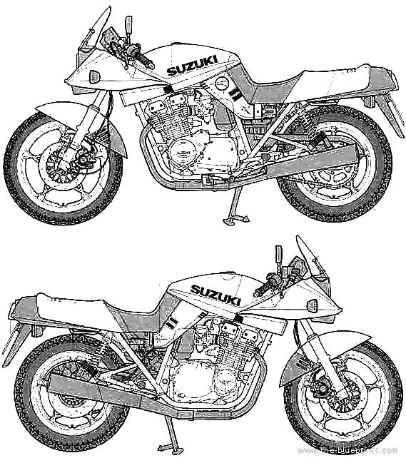 blueprints  u0026gt  motorcycles  u0026gt  suzuki  u0026gt  suzuki gsx 1100s katana