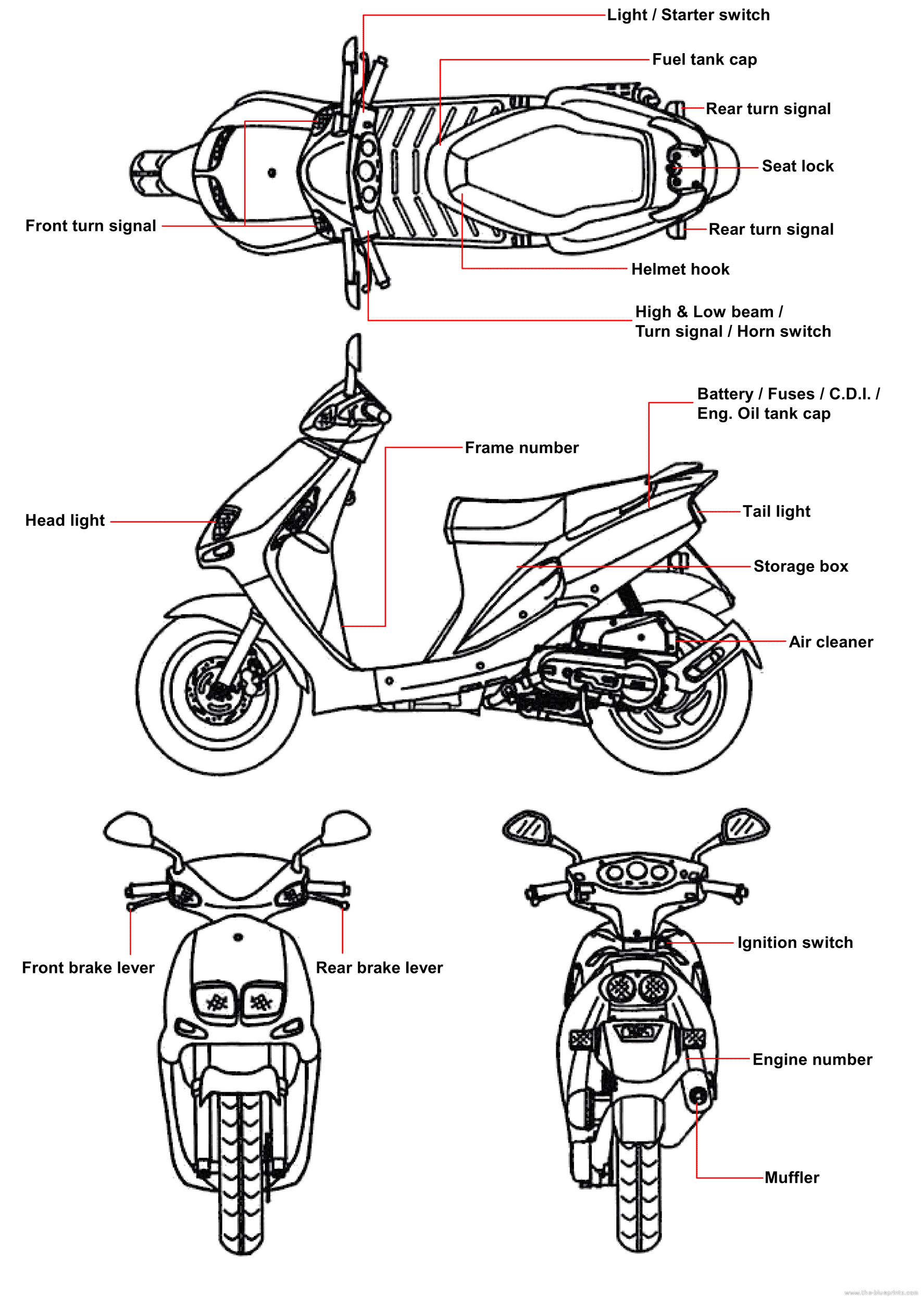 Vip Scooter 49cc Manual One Word Quickstart Guide Book Tao 50cc Wiring Diagram Sym Carburetor Elsavadorla Scooters Engine 2014