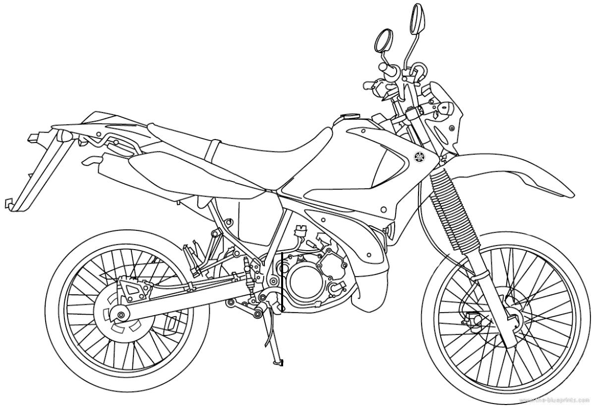 blueprints  u0026gt  motorcycles  u0026gt  yamaha  u0026gt  yamaha dt 125r  2004