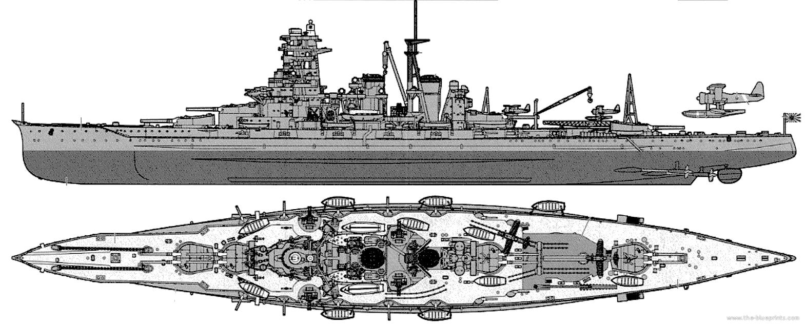 Kirishima Japan  City new picture : ... Blueprints > Ships > Battleships Japan > IJN Kirishima Battleship