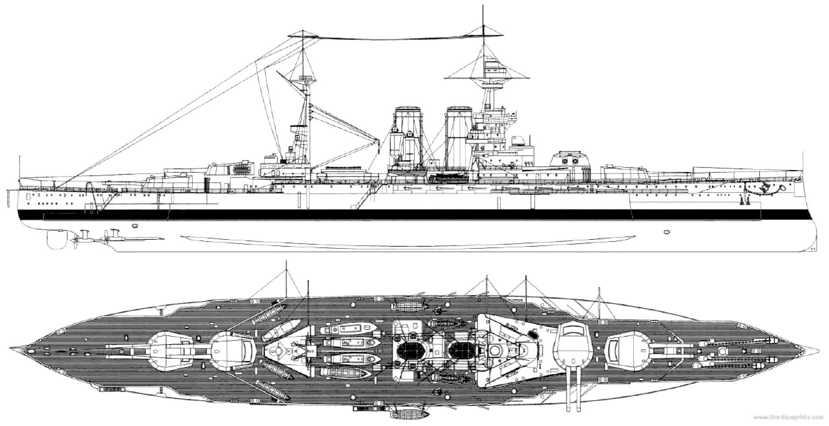 Blueprints ships battleships uk hms queen elizabeth 1918 hms queen elizabeth 1918 battleship malvernweather Images