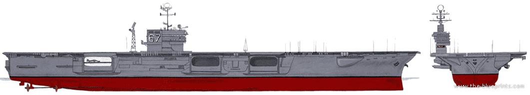 blueprints ships carriers us uss cv 67 john f kennedy