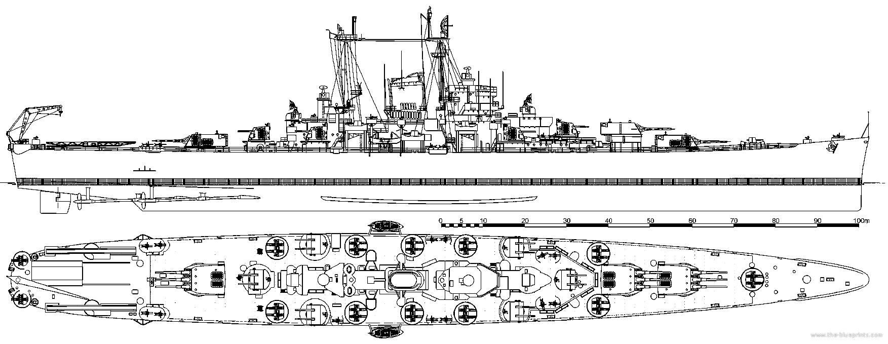 uss-ca-122-oregon-city-1946-heavy-cruise