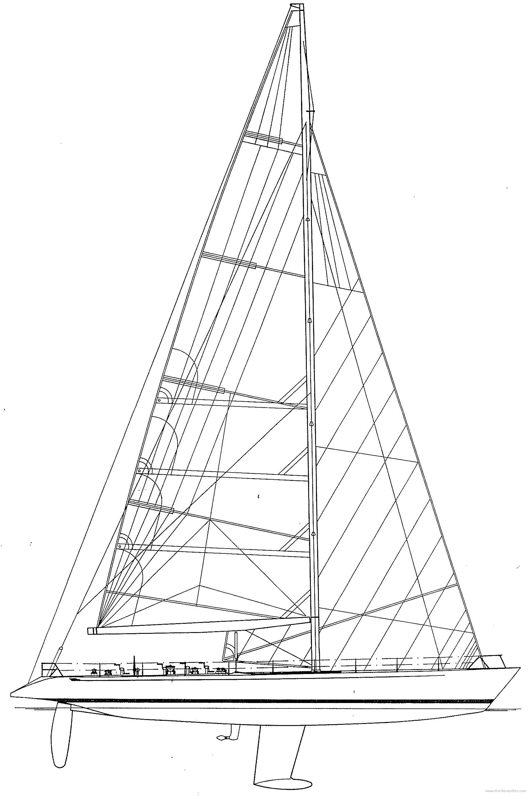 Blueprints ships sail boats baltic 81 maxi sail baltic 81 maxi sail malvernweather Image collections