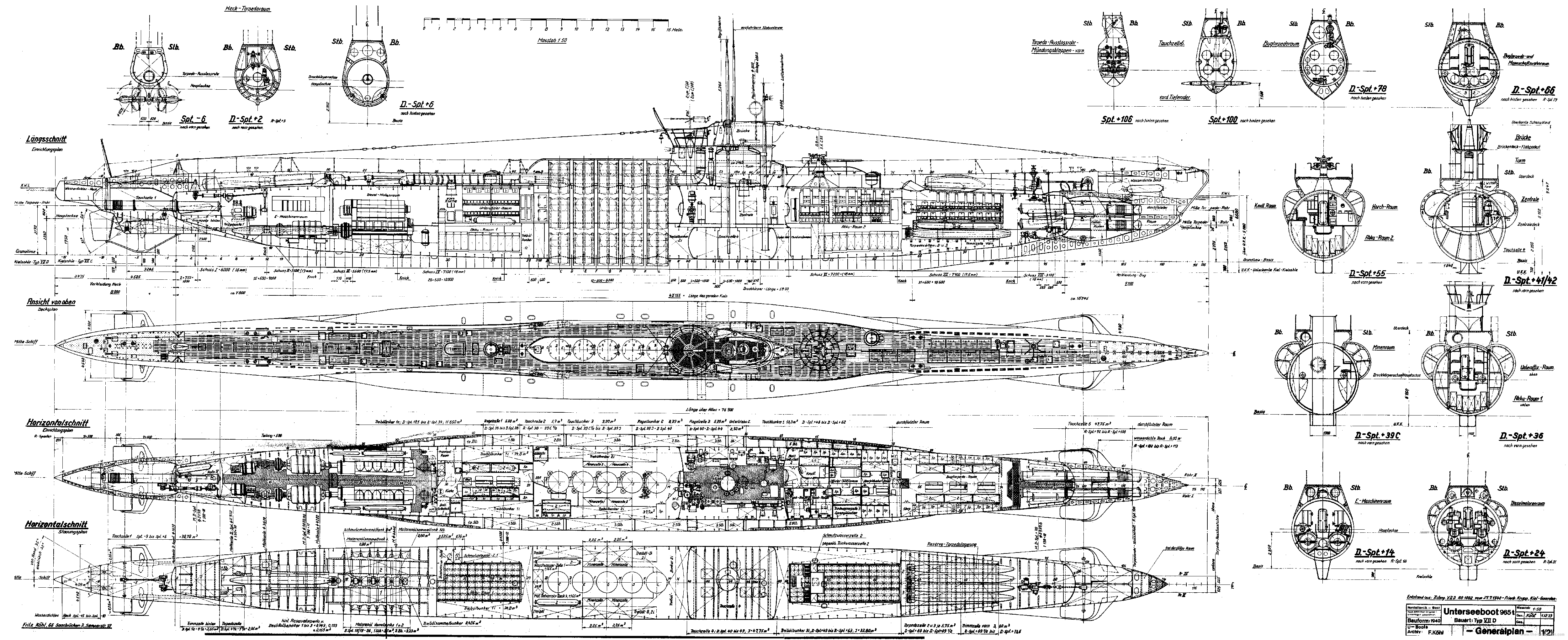 Looking for Nuclear Submarine BLUEPRINTS (drawings, plans) - SUBSIM ...