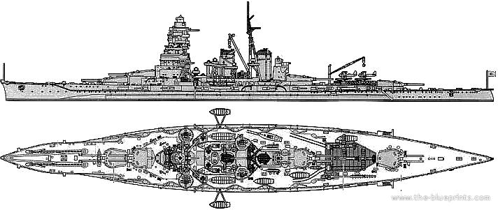 Blueprints ships ships japan ijn hiei battleship ijn hiei battleship malvernweather Images