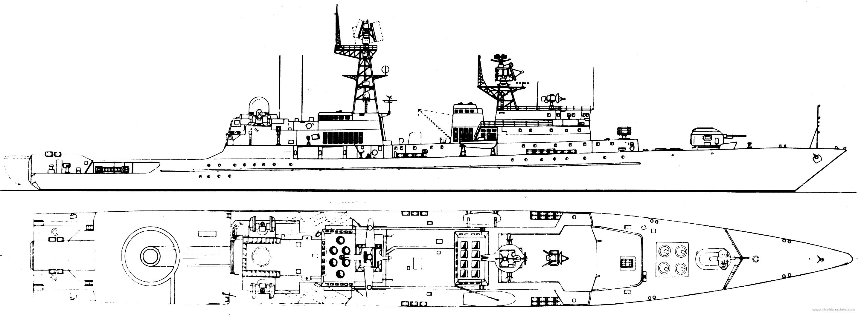 FRS Neustrashimyy Project 1154 Yastreb Frigate