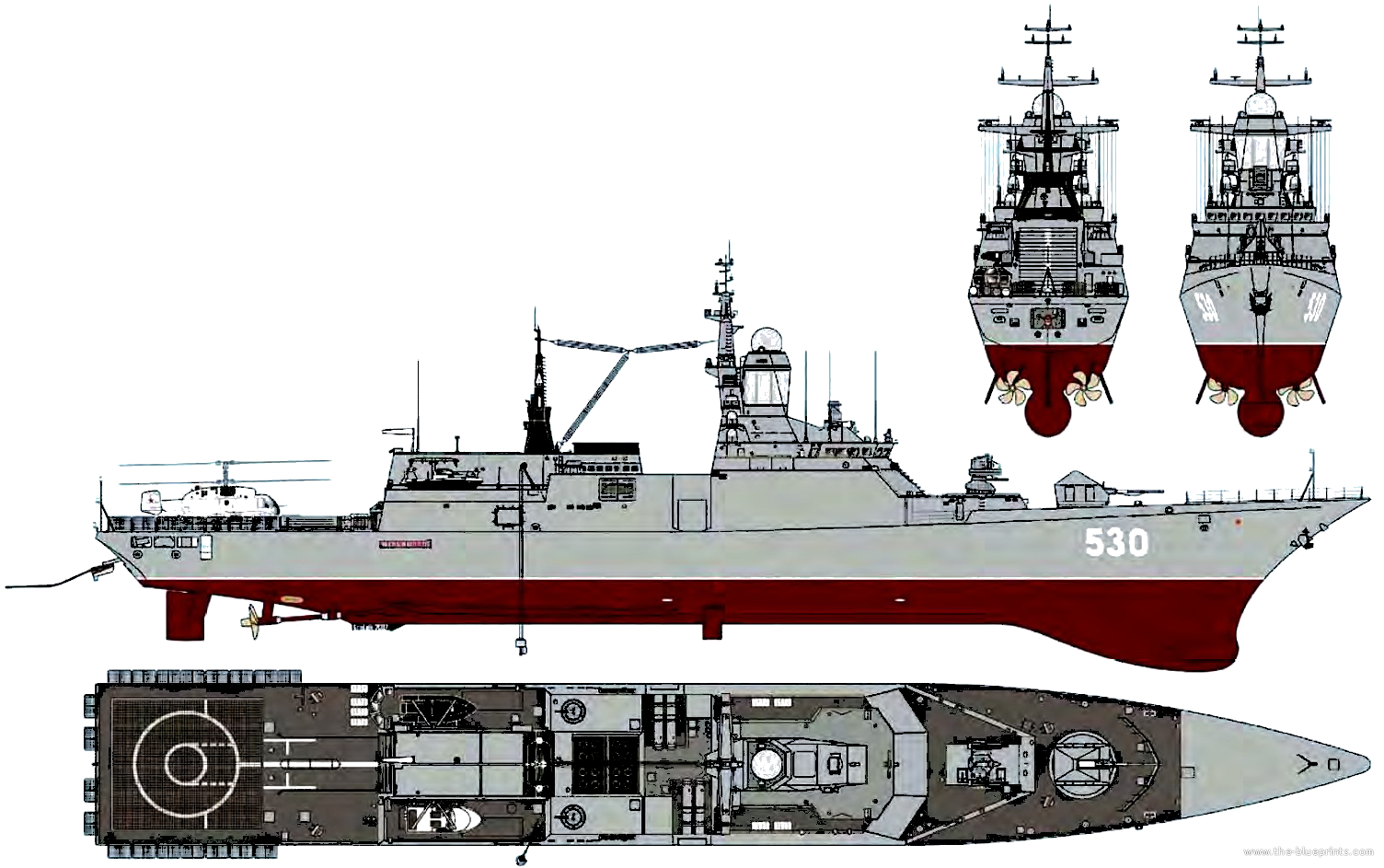 Project 20380 Steregushchy Class Corvettes Russia Thai