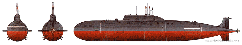 Akula Class Akula ii Class Submarine