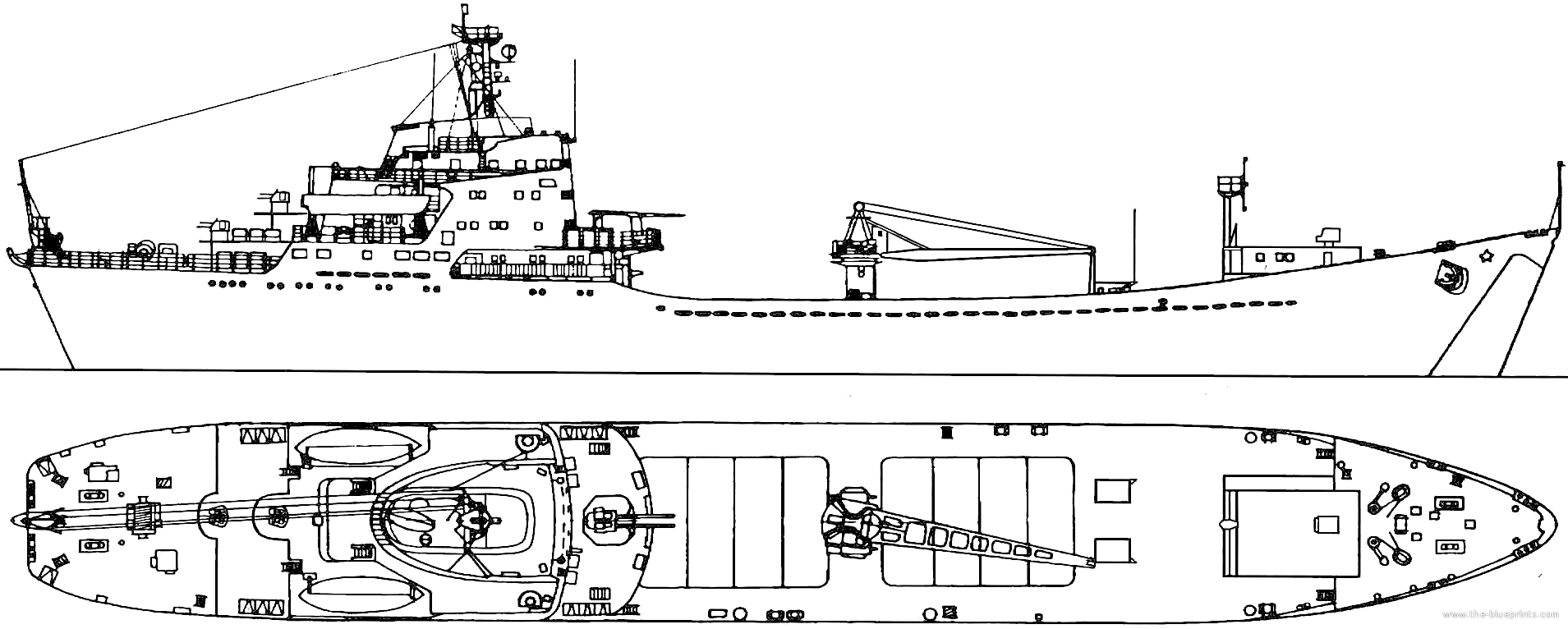 Ships Blueprints http://www.the-blueprints.com/blueprints/ships/ships-russia/43922/view/ussr_nikolai_filchenkov_(alligator_class_project_landing_ship)/