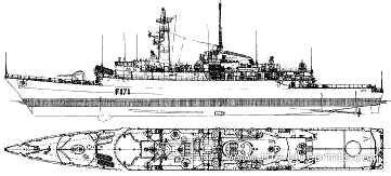 The-Blueprints.com - Blueprints > Ships > Ships (UK) > HMS Active ...