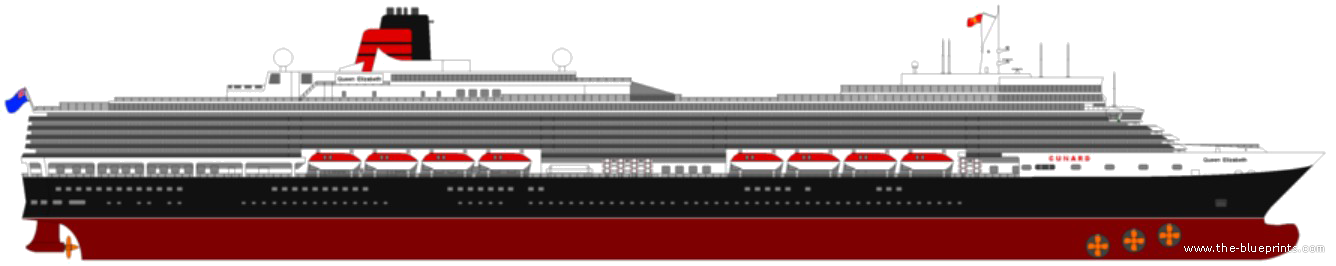 Cruise Ship Blueprints : The blueprints gt ships uk rms