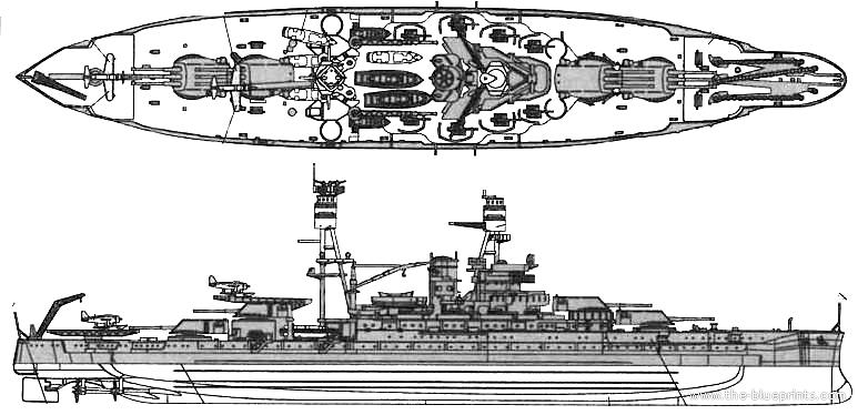 Blueprints ships ships us uss bb 39 arizona battleship 1941 uss bb 39 arizona battleship 1941 malvernweather Images