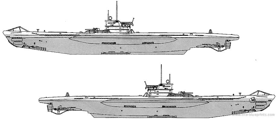 Work Boats Drawings u 96 Submarine Drawings