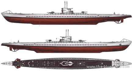 blueprints ships submarines germany dkm u boat type ix a