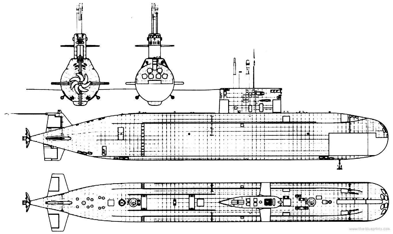diagram of kilo sub