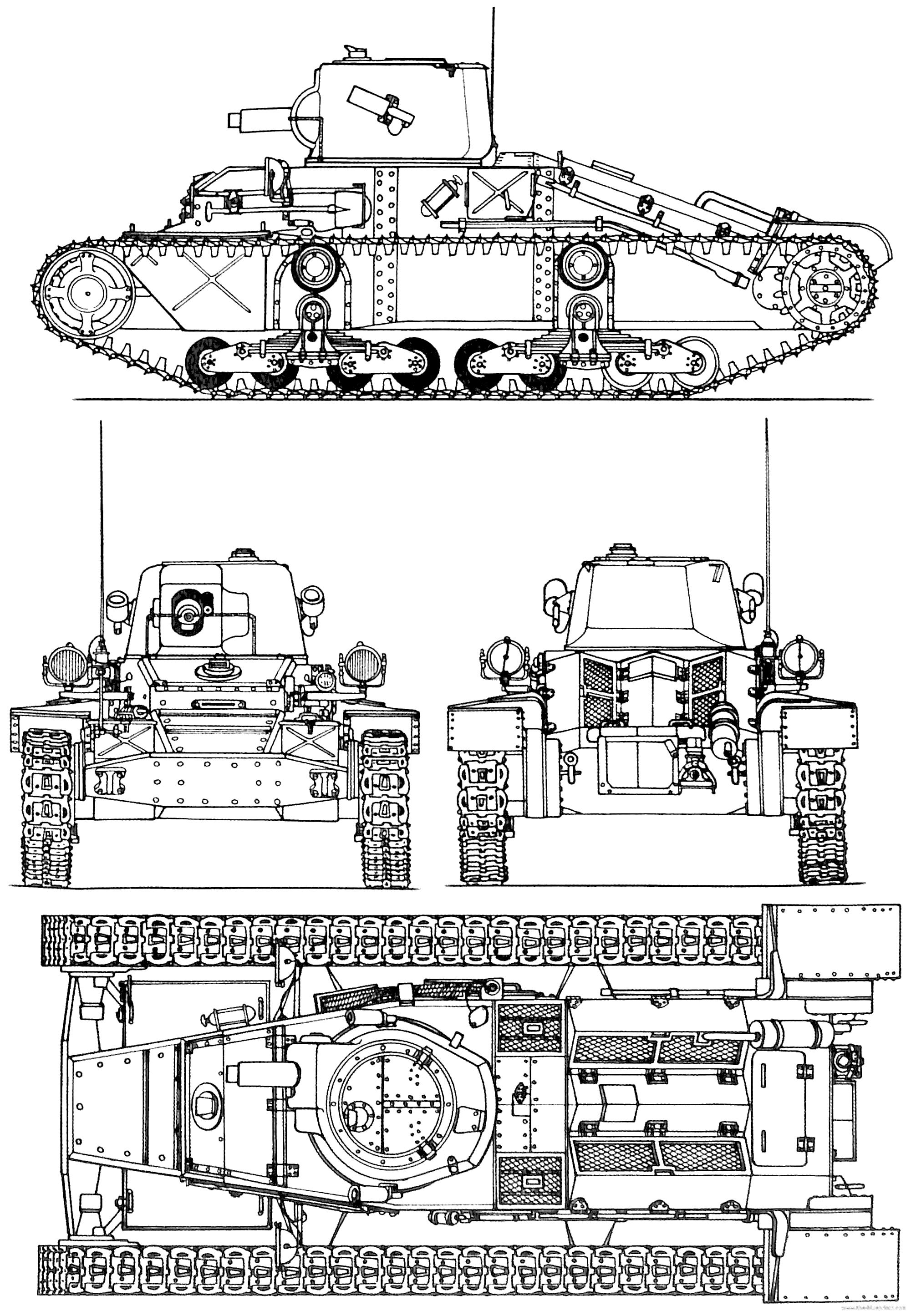 blueprints  u0026gt  tanks  u0026gt  tanks a  u0026gt  a11 cruiser tank mk i