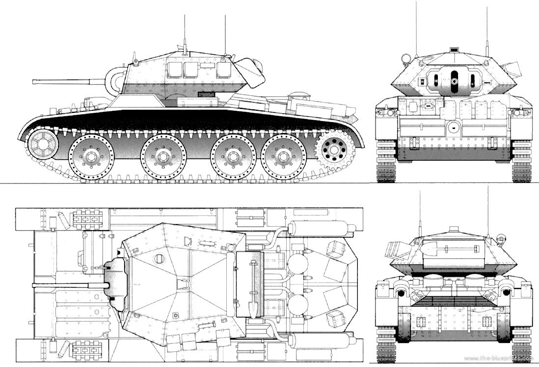 blueprints  u0026gt  tanks  u0026gt  tanks a  u0026gt  a13 mk iii cruiser tank mk