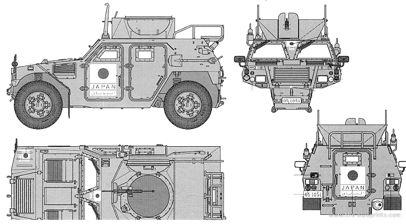 Vector Requests - J.G.S.D.F. Light Armored Vehicle