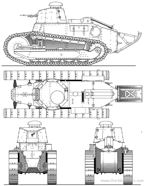blueprints  u0026gt  tanks  u0026gt  tanks r  u0026gt  renault ft