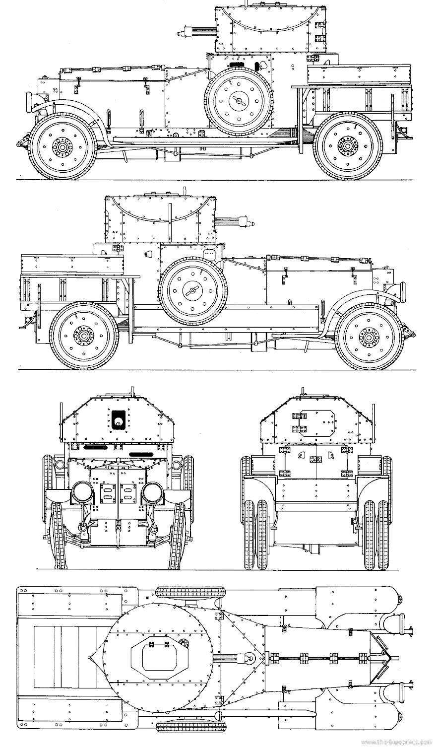 Rolls Royce Automobile Blueprint Art line chart template