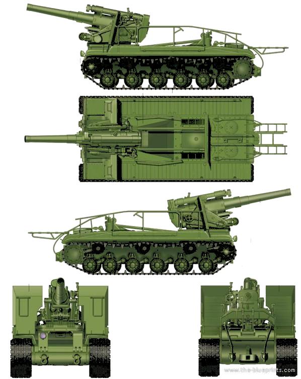 blueprints tanks tanks s s 51 spg. Black Bedroom Furniture Sets. Home Design Ideas