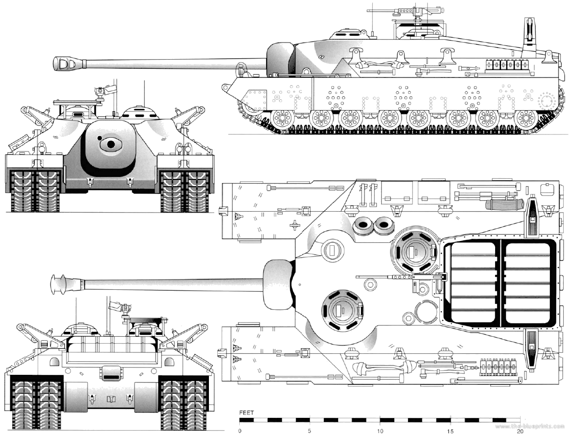 The Blueprints Com Blueprints Gt Tanks Gt Tanks T Gt T28